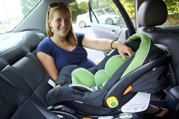 36 Weeks Car Seat Installed