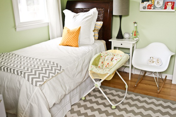 39 weeks nursery tour baby kerf Master bedroom with a crib