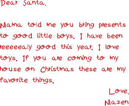 Santawriting